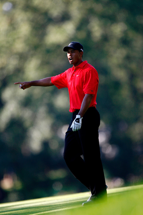CHICAGO, ILLINOIS - AUGUST 20, 2006.Tiger Woods of the United States of America during the fourth and final round of the 88th PGA Championship held at the Medinah Country Club in Chicago, Illinois