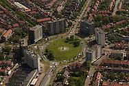 Luchtfotografie Leeuwarden Vrij-Baan - Europaplein, Heliconweg