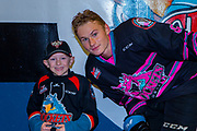 KELOWNA, CANADA - SEPTEMBER 21: Pepsi Player of the game with Kaedan Korczak #6 of the Kelowna Rockets at the Kelowna Rockets game on September 21, 2019 at Prospera Place in Kelowna, British Columbia, Canada. (Photo By Cindy Rogers/Nyasa Photography, *** Local Caption ***