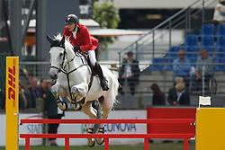 Devos Pieter, (BEL), Dylano<br /> Teamadn 1th individual qualifier <br /> FEI European Championships - Aachen 2015<br /> © Hippo Foto - Dirk Caremans<br /> 19/08/15