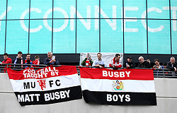 Manchester United fans arrive at Wembley for the FA Cup Final - Mandatory by-line: Robbie Stephenson/JMP - 21/05/2016 - FOOTBALL - Wembley Stadium - London, England - Crystal Palace v Manchester United - The Emirates FA Cup Final