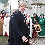 NLD/den Bosch/20160212 - Koning Willem Alexander opent de tentoonstelling Jheronimus Bosch in het in Het Noordbrabants Museum, Koning Willem Alexander