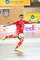 Benfica's Fabio Cecilio during UEFA Futsal Cup 2015/2016 3º/4º place match. April 22,2016. (ALTERPHOTOS/Acero)
