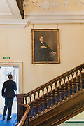 London, England, Uk, January 21 2019 - The Royal Institute for International Affairs, is a Think Tank commonly known as Chatham House.<br /> Inside the Grade-I listed building, built in the early 18th century.