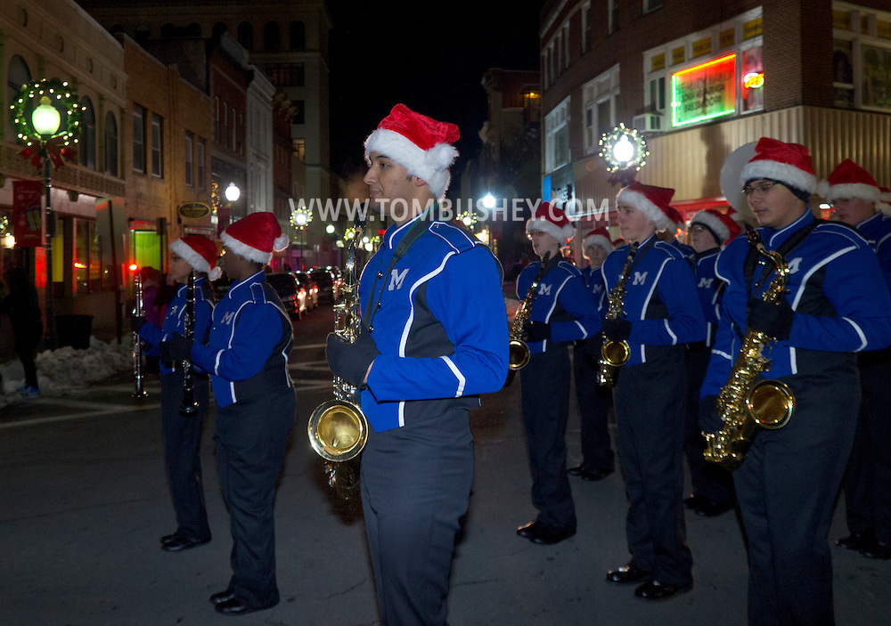 Middletown, New York - Middletown Holiday Parade and Tree Lighting ceremony downtown on  Nov. 28, 2014.