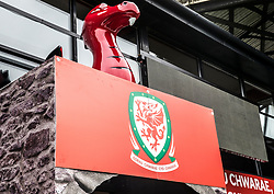 NEWPORT, WALES - Tuesday, October 16, 2018: A GV of the stadium ahead of the UEFA Under-21 Championship Italy 2019 Qualifying Group B match between Wales and Switzerland at Rodney Parade. (Pic by Laura Malkin/Propaganda)