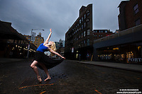 Meat Packing District New York City Dance As Art Photography Project featuring dancer Alyssa Ness