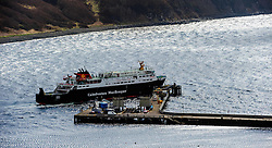 "Calmac ferry ""Hebrides"" docking at Uig, Isle of Skye, Scotland<br /> <br /> (c) Andrew Wilson 