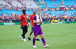 CHARLOTTE, USA - Sunday, July 22, 2018: Liverpool's Ben Woodburn after a preseason International Champions Cup match between Borussia Dortmund and Liverpool FC at the  Bank of America Stadium. (Pic by David Rawcliffe/Propaganda)