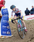 Anna FLYNN (GBR) EDINBURGH ROAD CLUB during the Koppenbergcross 2018 event in Melden on Thursday 1 November 2018.