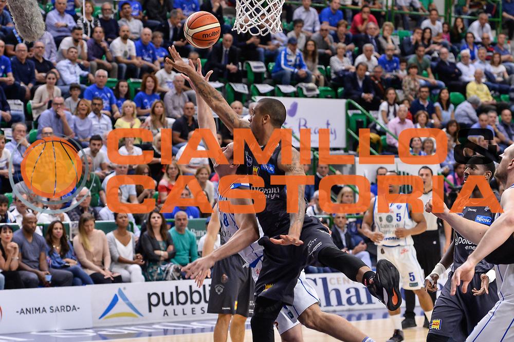 Giacomo Devecchi<br /> Banco di Sardegna Dinamo Sassari - Dolomiti Energia Aquila Basket Trento<br /> Legabasket Serie A LBA Poste Mobile 2016/2017<br /> Playoff Quarti Gara3<br /> Sassari 16/05/2017<br /> Foto Ciamillo-Castoria