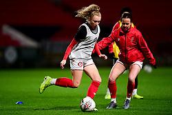 Katie Robinson of Bristol City prior to kick off - Mandatory by-line: Ryan Hiscott/JMP - 17/02/2020 - FOOTBALL - Ashton Gate Stadium - Bristol, England - Bristol City Women v Everton Women - Women's FA Cup fifth round