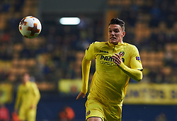 December 7, 2017 - Vila-Real, Castellon, Spain - Adrian Marin of Villarreal CF during the Europa League match between Villarreal CF and Maccabi Tel Aviv at Estadio de la Ceramica on december 7, 2017 in Vila-real, Spain. (Credit Image: © Maria Jose Segovia/NurPhoto via ZUMA Press)