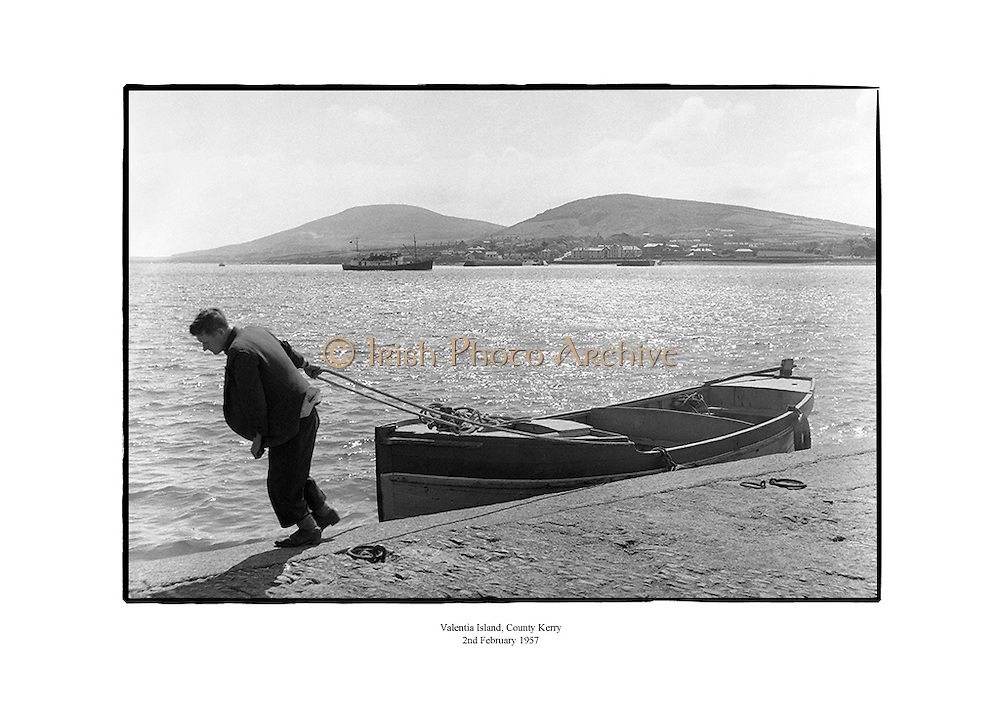 Scenic view of Valentia Island, County Kerry.<br /> <br /> 2nd February 1957<br /> <br /> 02/02/1957