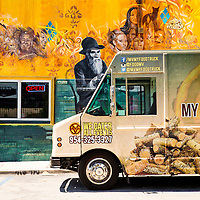 MIAMI, FLORIDA -- July 11, 2015 -- Beer lovers enjoy a large selection of local brews at Wynwood Brewery Company in the Wynwood Art District in Miami, Florida.  (PHOTO / CHIP LITHERLAND)MIAMI, FLORIDA -- July 11, 2015 -- Beer lovers enjoy a large selection of local brews and a regular food truck outside at Wynwood Brewery Company in the Wynwood Art District in Miami, Florida.  (PHOTO / CHIP LITHERLAND)
