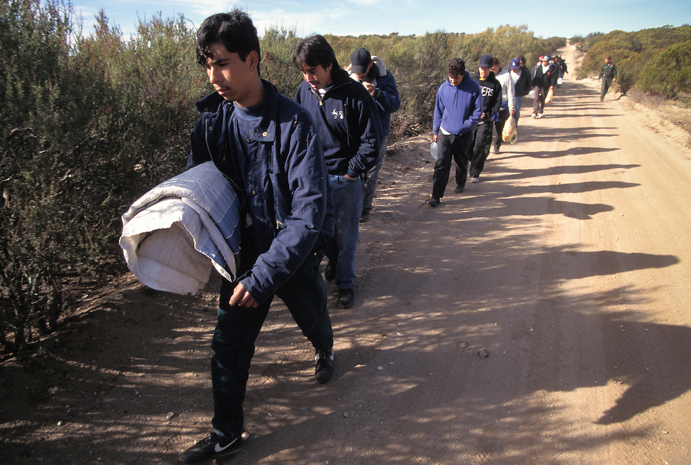 A large group of undocumented immigrants are caught near the US/Mexico border and taken to a detention facility in California. Please contact Todd Bigelow directly with your licensing requests. PLEASE CONTACT TODD BIGELOW DIRECTLY WITH YOUR LICENSING REQUEST. THANK YOU!
