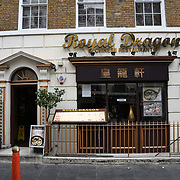 Royal Dragon Chinese restaurants in Chinatown London on July 19 2018, UK