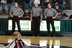 20 January 2014: 103rd McLean County Tournament.  Fieldcrest Knights v Ridgeview Mustangs Boys Quarter-Final at Shirk Center, Bloomington Illinois