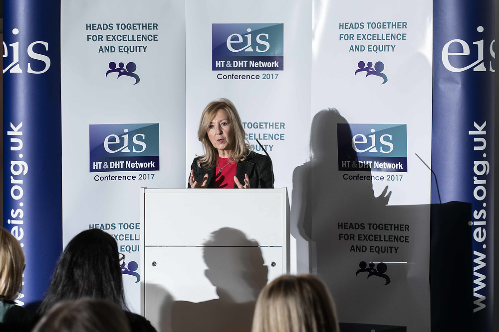 Photographing a speaker at the EIS, Educational Institute of Scotland, HT & DHT conference event in Edinburgh