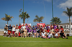Bristol City head coach Lee Johnson poses for a picture with fans who attended the open training session  - Mandatory by-line: Matt McNulty/JMP - 20/07/2017 - FOOTBALL - Tenerife Top Training Centre - Costa Adeje, Tenerife - Pre-Season Training