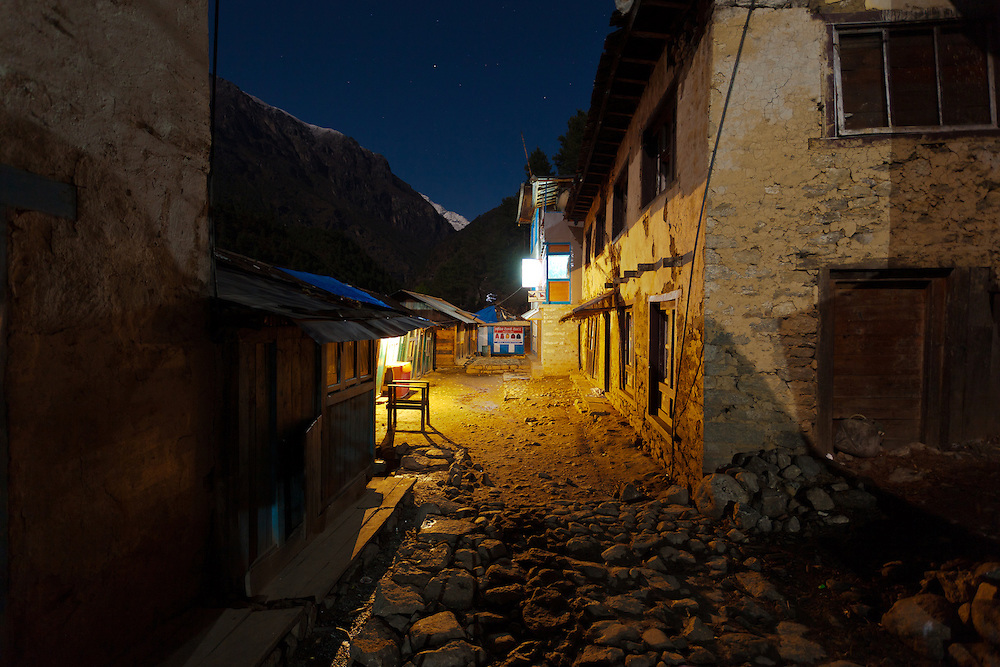 Nepal at Night