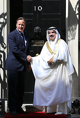 AUG 06 2013 King of Bahrain in Downing St