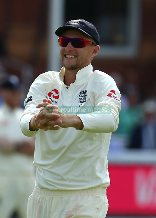 July 7, 2017 - London, United Kingdom - England's Joe Root .during 1st Investec Test Match between England and South Africa at Lord's Cricket Ground in London on July 07, 2017  (Credit Image: © Kieran Galvin/NurPhoto via ZUMA Press)