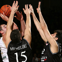 20080124: Basketball - Euroleague, Union Olimpija vs Virtus Vidivici