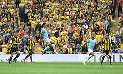Gabriel Jesus of Manchester City controls the ball - Mandatory by-line: Arron Gent/JMP - 18/05/2019 - FOOTBALL - Wembley Stadium - London, England - Manchester City v Watford - Emirates FA Cup Final