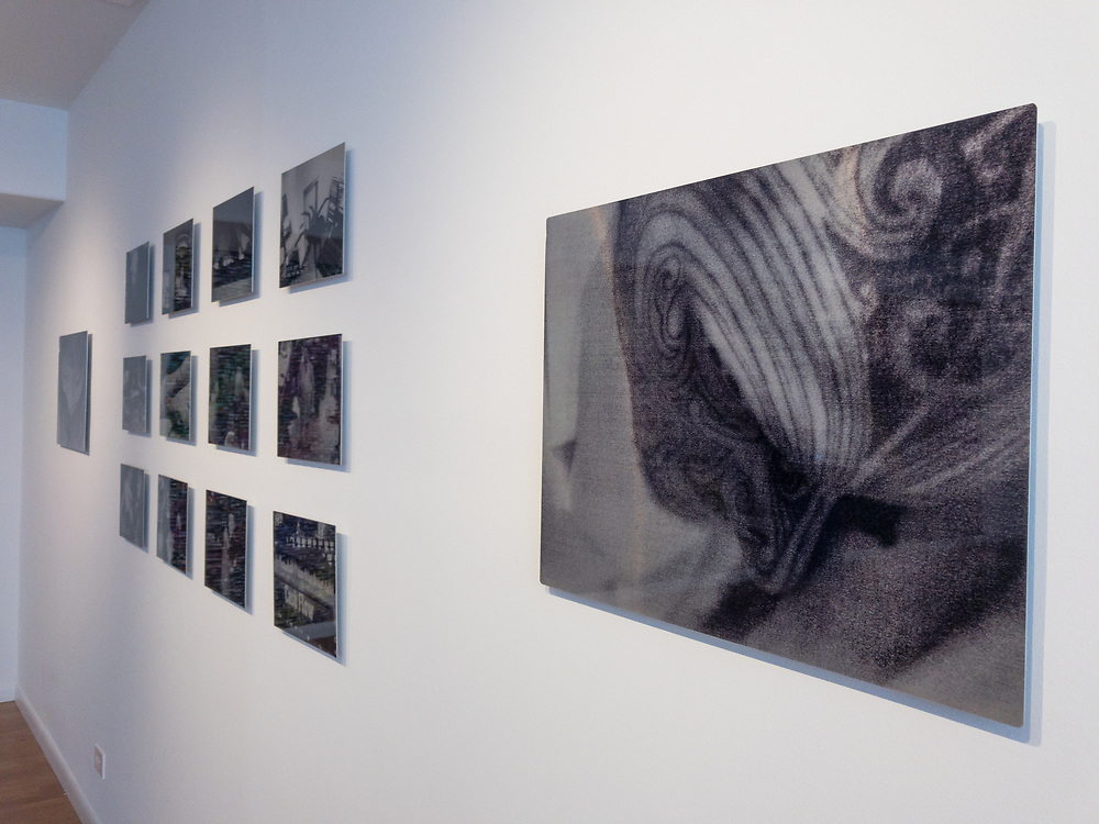 Photographer X in Keeping Watch exhibition at the Colorado Photographic Arts Center.
