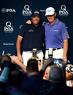 Phil Mickelson & Ernie Els Press Conference - 8 Aug 2017