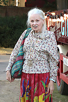 Vivienne Westwood, Giffords Circus Press Night - Celebrity Arrivals, Chiswick House & Gardens, London, UK, 28 June 2018, Photo by Richard Goldschmidt