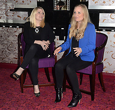 3 APRIL 2015 Louise Dearman and Kerry Ellis Press Launch
