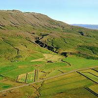 Miðdalskot séð til austurs, Bláskógabyggð áður Laugardalshreppur. / Middalskot viewing east, Blaskogabyggd former Laugardalshreppur.