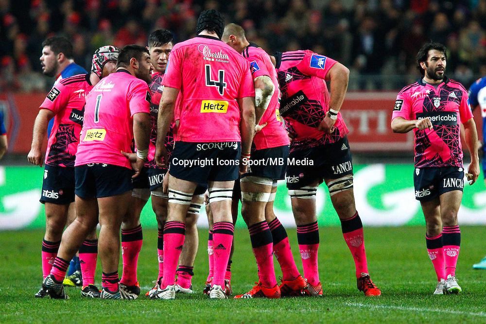 Groupe Stade Francais - 19.12.2014 - Grenoble / Stade Francais - 13eme journee de Top 14 -<br />Photo : Jack Robert / Icon Sport
