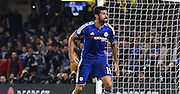 Diego Costa gives his angry face as a decision goes against him during the Champions League group stage match between Chelsea and Dynamo Kiev at Stamford Bridge, London, England on 4 November 2015. Photo by Michael Hulf.