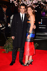 Colin Farrell with Ruth Wilson at the World Premiere of 'Saving Mr Banks'. Odeon, London, United Kingdom. Sunday, 20th October 2013. Picture by Nils Jorgensen / i-Images