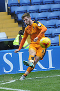 Wolverhampton Wanderers midfielder James Henry takes corner  during the Sky Bet Championship match between Sheffield Wednesday and Wolverhampton Wanderers at Hillsborough, Sheffield, England on 20 December 2015. Photo by Ian Lyall.