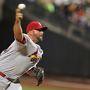 NEW YORK, NEW YORK - July 27: Pitcher Jonathan Broxton #30 of the St. Louis Cardinals pitching during the St. Louis Cardinals Vs New York Mets regular season MLB game at Citi Field on July 27, 2016 in New York City. (Photo by Tim Clayton/Corbis via Getty Images)