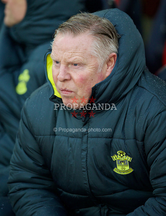 SOUTHAMPTON, ENGLAND - Sunday, February 22, 2015: Southampton's coach Sammy Lee before the FA Premier League match against Liverpool at St Mary's Stadium. (Pic by David Rawcliffe/Propaganda)