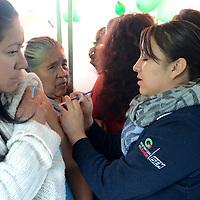 Lerma, México (Julio 21, 2016).- Servicios de Salud durante la entrega de la rehabilitación del Centro Especializado de Atención Primaria a la Salud en Huitzizilapan.  Agencia MVT / José Hernández