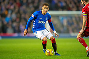 James Tavernier (#2) of Rangers FC during the Ladbrokes Scottish Premiership match between Rangers and Aberdeen at Ibrox, Glasgow, Scotland on 5 December 2018.