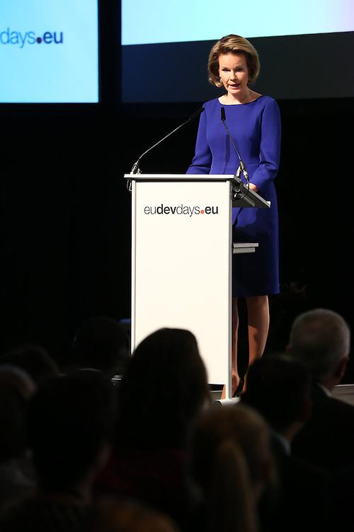 20150603- Brussels - Belgium - 03 June2015 - European Development Days - EDD  - Queen Mathilde of Belgium at the EDD during the Right to quality education seminar © EU/UE