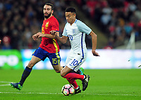 Football - 2016 / 2017 International Friendly - England vs. Spain<br /> <br /> Jesse Lingard of England at Wembley.<br /> <br /> COLORSPORT/ANDREW COWIE