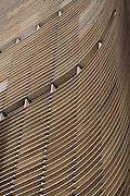 Sao Paulo_SP, Brasil...Edificio Copan em Sao Paulo, importante simbolo da arquitetura moderna brasileira, projetado por Oscar Niemeyer...The Copan building in Sao Paulo, the Brazilian modern architecture symbol, it was designed by architect Oscar Niemeyer...Foto: MARCUS DESIMONI / NITRO