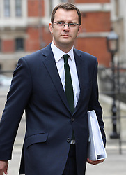 Former News of the World editor and Downing Street communications chief Andy Coulson arriving at The Leveson Inquiry in London, Thursday 10th May 2012.  Photo by: Stephen Lock / i- Images