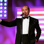 "Lee Greenwood performs ""God Bless the USA."""