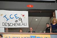 KELOWNA, CANADA, NOVEMBER 25: the Kootenay Ice visit the Kelowna Rockets  on November 25, 2011 at Prospera Place in Kelowna, British Columbia, Canada (Photo by Marissa Baecker/Shoot the Breeze) *** Local Caption ***