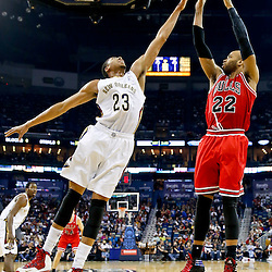02-01-2014 Chicago Bulls at New Orleans Pelicans