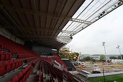 Building work begins on the West Stand as part of the Ashton Gate Stadium ongoing development. - Mandatory byline: Dougie Allward/JMP - 07966 386802 - 03/10/2015 - FOOTBALL - Ashton Gate - Bristol, England - Bristol City v MK Dons - Sky Bet Championship
